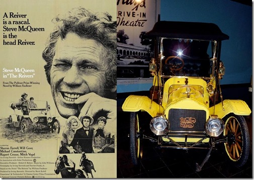 Steve McQueen 1904 Winton flyer Reivers movie car