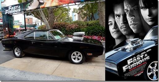 Fast and Furious 1970 Dodge Charger stunt car