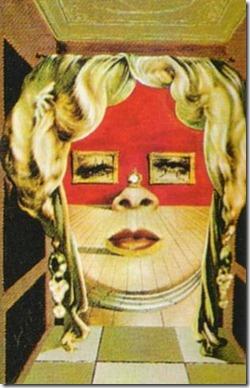 salvador dali-Face of Mae West